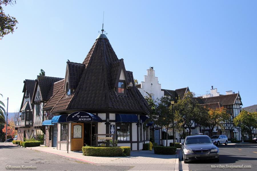 Solvang - датская деревня в Калифорнии