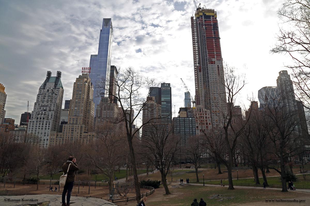 New York, Manhattan, Центральный Парк