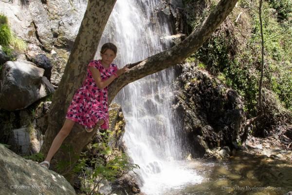 Водопад Каледония, Кипр