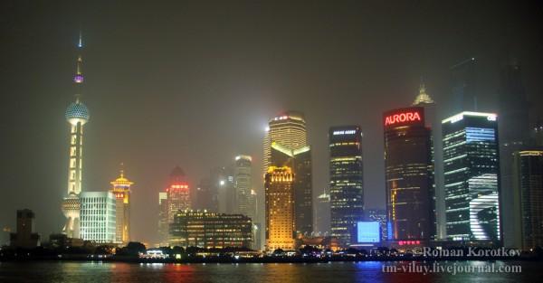 Небоскрёбы Шанхая