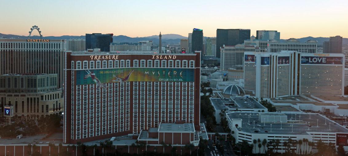 Лас-Вегас, вид на СТРИП