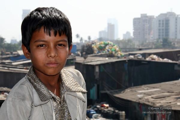 Мальчик из низших каст Индии